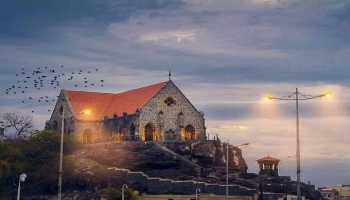 صور من اليمن: كنيسة القديسة ماري