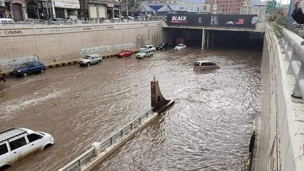 اليمن: استمرار حالة عدم الاستقرار الجوي وهطول الأمطار على أغلب محافظات البلاد