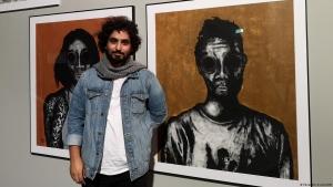 """برلين: """"بانكسي يمني"""" يبتكر فنا ضد الحرب في بلاده"""