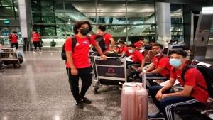رياضة: المنتخب اليمني الاولمبي بقيادة المدرب امين السنيني يصل الدوحة قبيل ايام من تصفيات اسيا